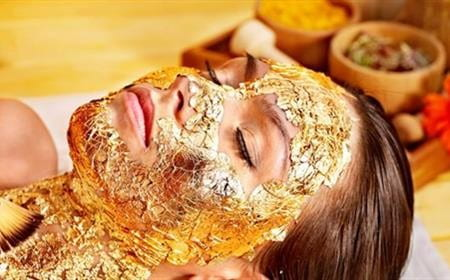 Gold anti ageing treatment duo